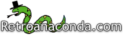 Retroanaconda.com Logo